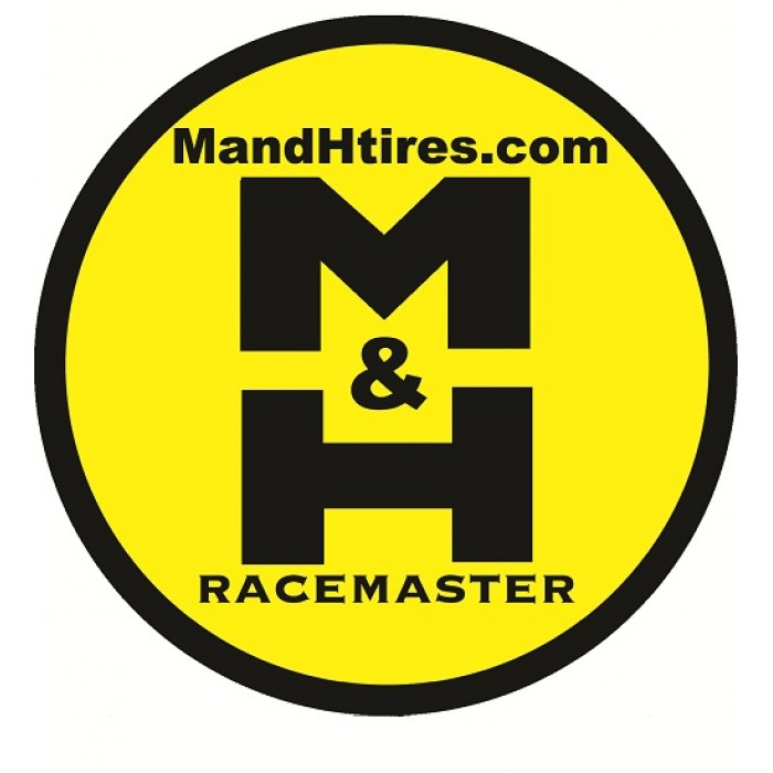 M&H Racemaster Tires Sticker